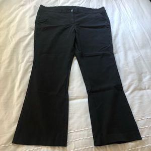 Lane Bryant black dress pants - plus size 24